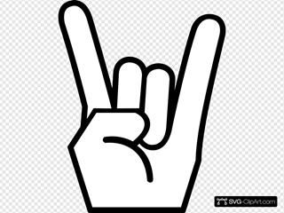 Rock On Dude SVG Design