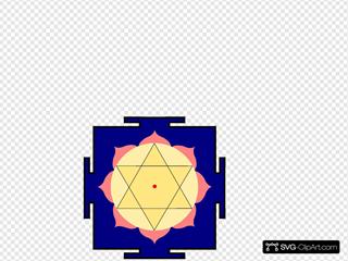 Krishna Yantra SVG Clipart