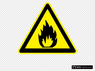 Sign Flammable Materials