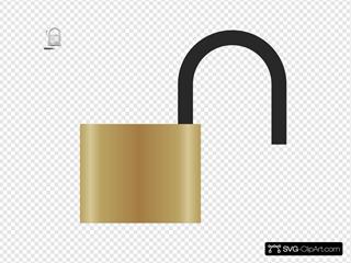 Lock - Open