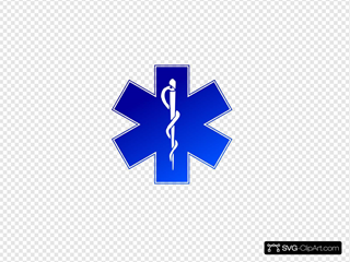 Ems Emergency Medical Service Logo