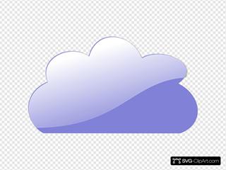 Blue Glassy Cloud