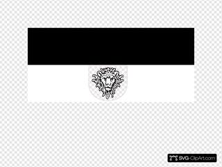 Jzedlitz Flag Deutsch Ostafrika