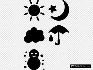 Weather Icon Pictograms