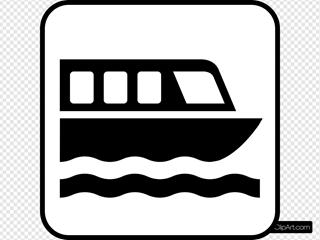 Map Symbols Boat