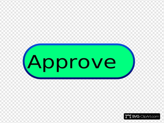 Approved Symbol SVG Clipart