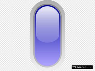 Led Rounded V (blue)