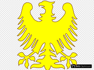Phoenix - Yellow SVG Cliparts