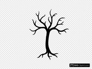 Tree Silhouette Clip Art