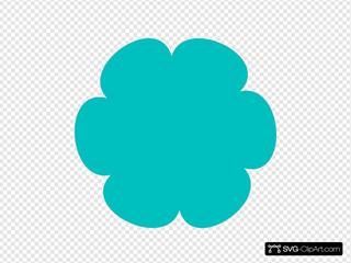 Turkiz Flower 4