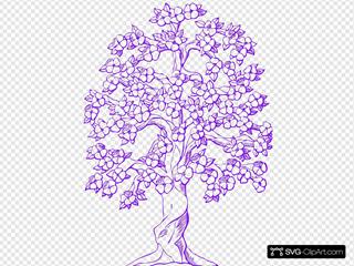 Purple Tree Resized