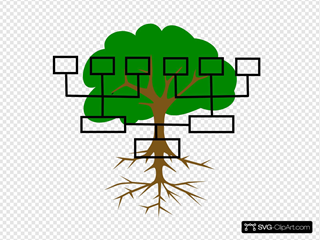 Family Tree SVG Clipart