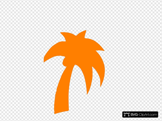 Palm Tree Orange