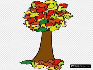 Fall Coloured Tree