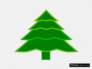 4 Layer Fir Tree