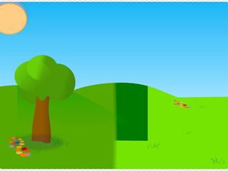 Trees Sky Grass 2
