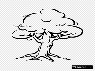 Constitution Tree Clip Art Icon And Svg Svg Clipart