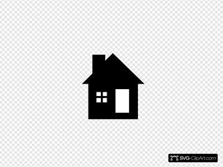 Black/white House