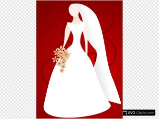 Bride Wearing Gown