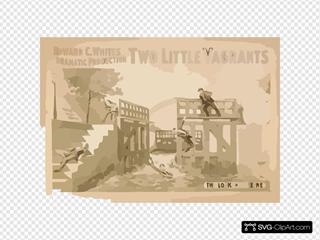 Edward C. White S Dramatic Production,  Two Little Vagrants
