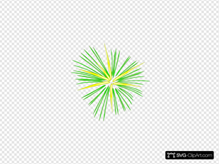 Large Green Fireworks