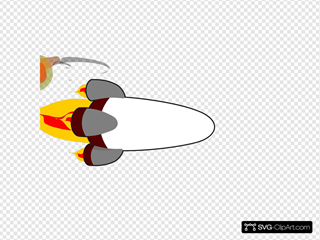 My Rocketship Edit (realistic) White