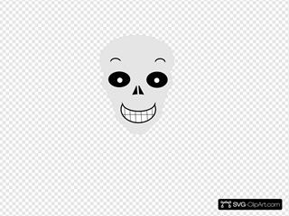 Gray Happy Final 2 No Circles SVG Clipart