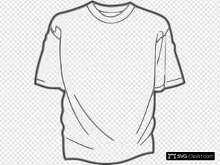 Digitalink Blank T Shirt Clipart