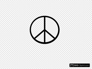 Peace Symbol (transparent Fix)