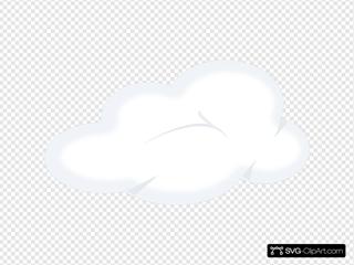 Set Of Soft Clouds