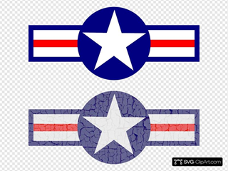 Air Force Stripes And Star