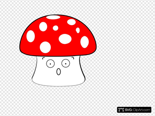 Scared Mushroom 2