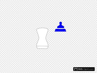 White SVG Clipart