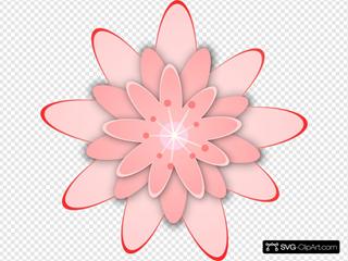Pink Flower 15