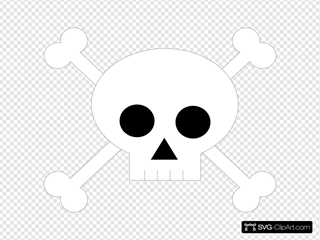 Free Skull And Cross Bones, Download Free Clip Art, Free Clip Art on Clipart  Library