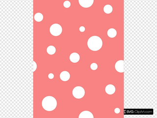 Pink With White Dots 2