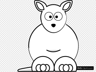 White Sightword Kangaroo