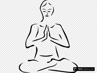 Yoga Poses Stylized Svg Vector Yoga Poses Stylized Clip Art Svg Clipart
