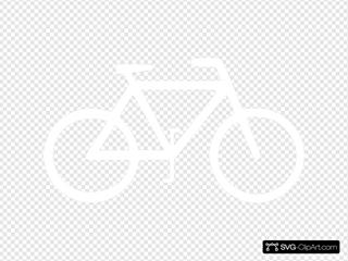 White Bike Bicycle