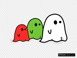 Colored Ghosts