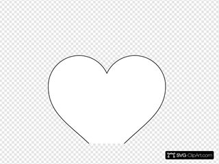 Small Red Heart With Transparent Background