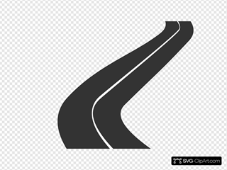 Road  SVG Clipart