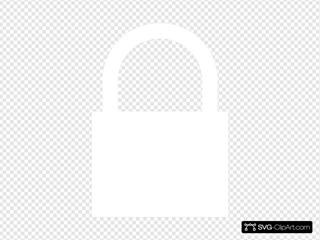 White Lock Locked