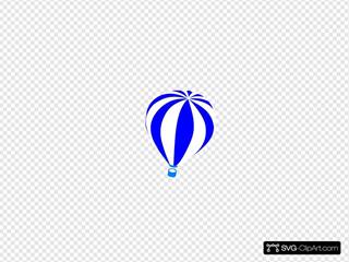 Hot Air Balloon SVG Clipart