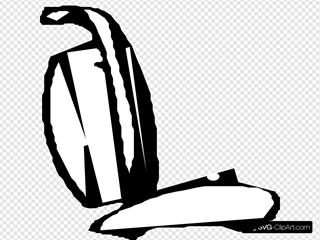 Vacuum Cleaner SVG Clipart