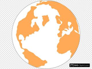 Orange And Blue Globeju