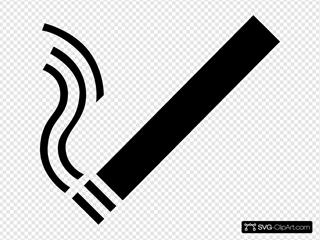 Cigarette SVG Clipart