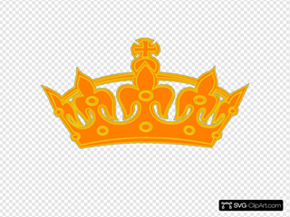 Orange Yellow Crown