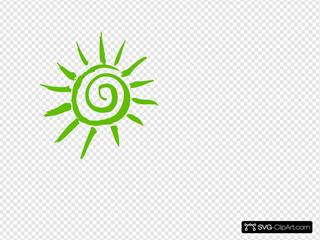 Sun SVG Clipart