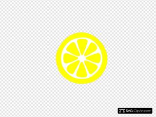 Lemon Slice ( Yellow )